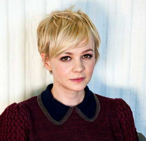 Ladies Blonde Pixie Haircuts