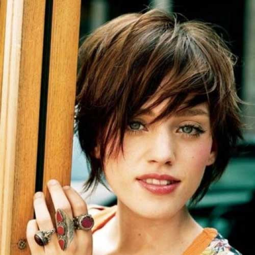 Layered Long Pixie Cuts Ideas