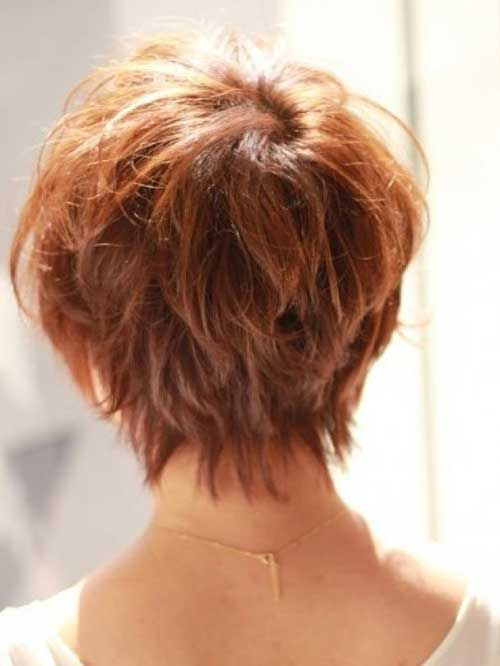 Layered Pixie Back View Look