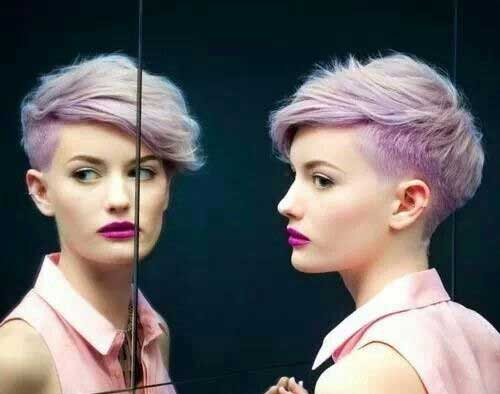 Layered Pixie Cut Colored Ideas