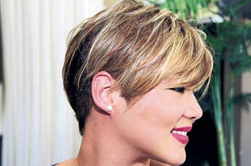 Layered Pixie Hair Cuts