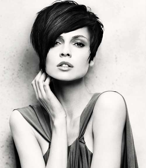 Nice Layered Pixie Hairstyles 2015