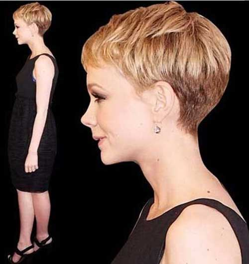 Layered Pixie Hairstyles Side