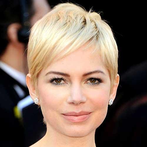 Light Blonde Pixie Hair Color Ideas
