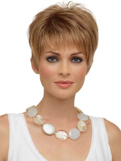 Light Blonde Pixie Trendy Hair Styles 2015