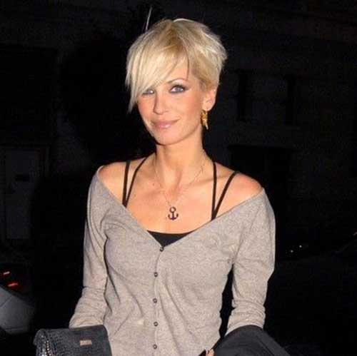 Light Blonde Pixie Hairstyles for Women