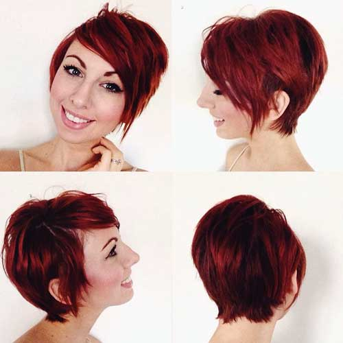 Long Pixie Trendy Red Hair Ideas