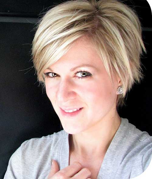 Long Top Straight Pixie Cut