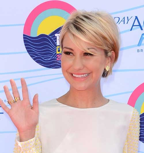 Longer Blonde Pixie Haircut Styles