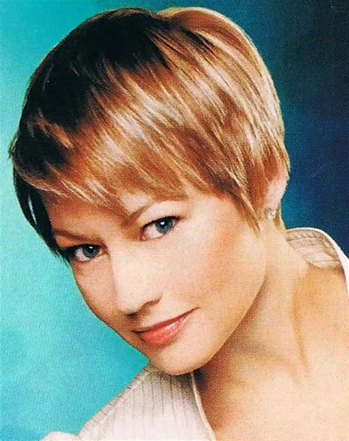 Medium Pixie Thin Hairstyles