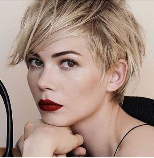 Messy Layered Pixie Haircuts