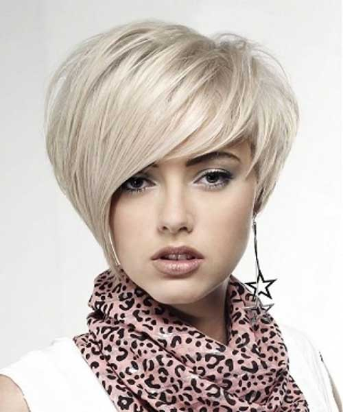 Modern Blonde Layered Pixie Haircuts