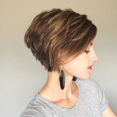 Modern Long Pixie Layered Bangs Haircuts