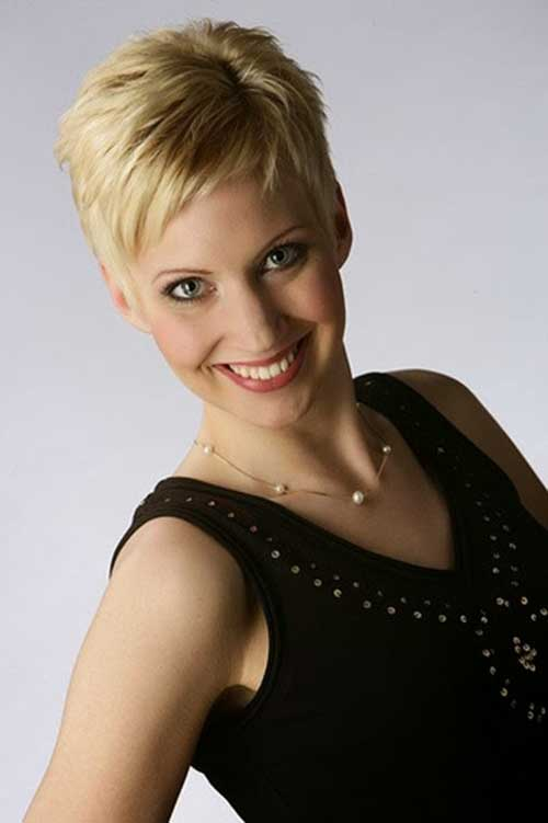 Modern Pixie Cut Hair Cuts