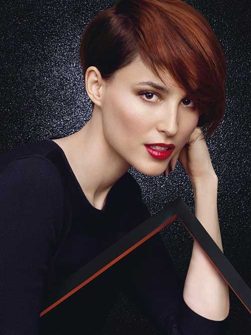 Modern Red Pixie Hairstyles