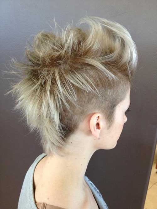 Mohawk Pixie Back View Look