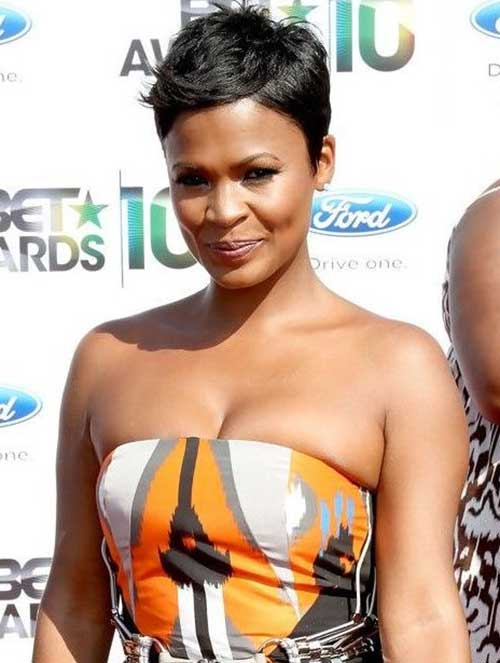 Nia Long Pixie Hairstyles 2014-2015