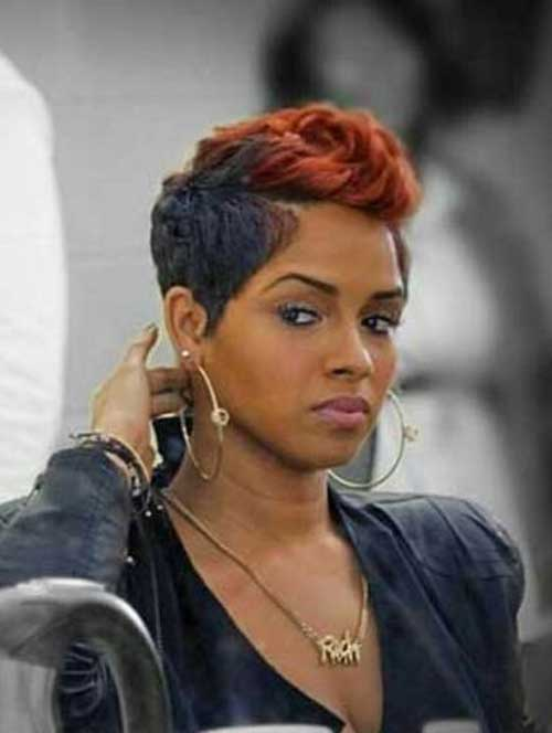 Cool 15 Pixie Haircut For Black Women Pixie Cut 2015 Hairstyle Inspiration Daily Dogsangcom