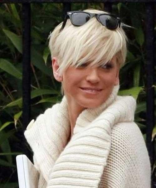 Blonde Pixie Cut Hairstyles 2014