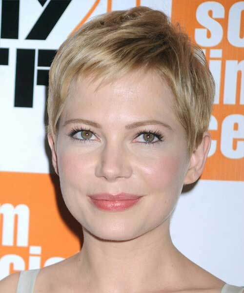 Pixie Cut Blonde Styles for Round Faces
