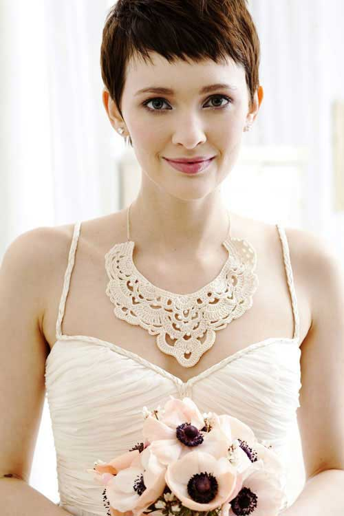 Best Pixie Cut Wedding Hair