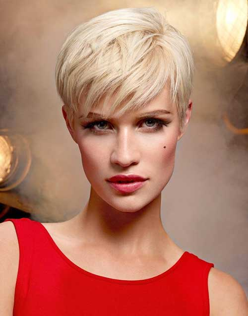 Modern Pixie Cut for Long Face