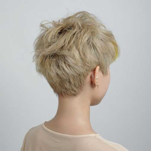 Pixie Cuts Back View