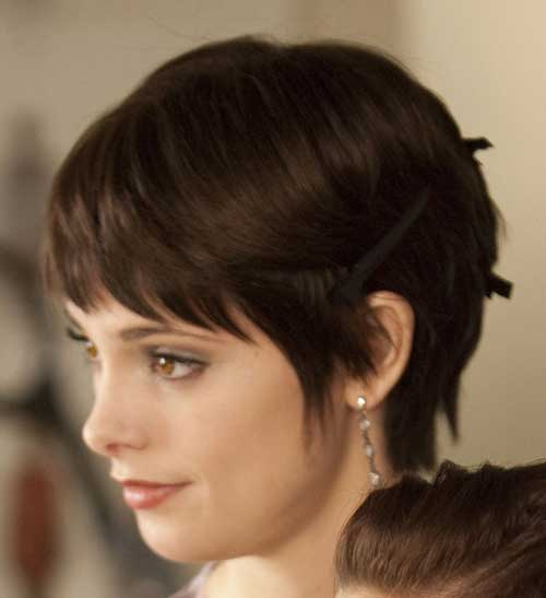 Pixie Cuts Side View Looks