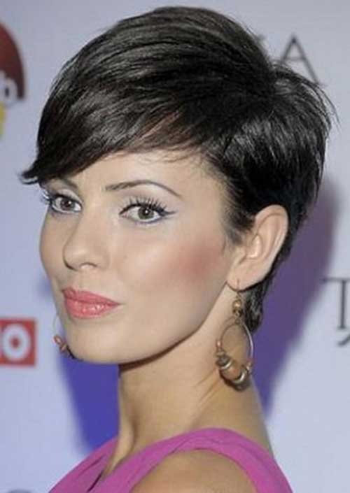 14 Best Dark Pixie Cut