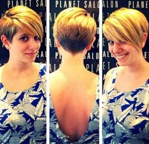 Simple Pixie Haircuts for 2015