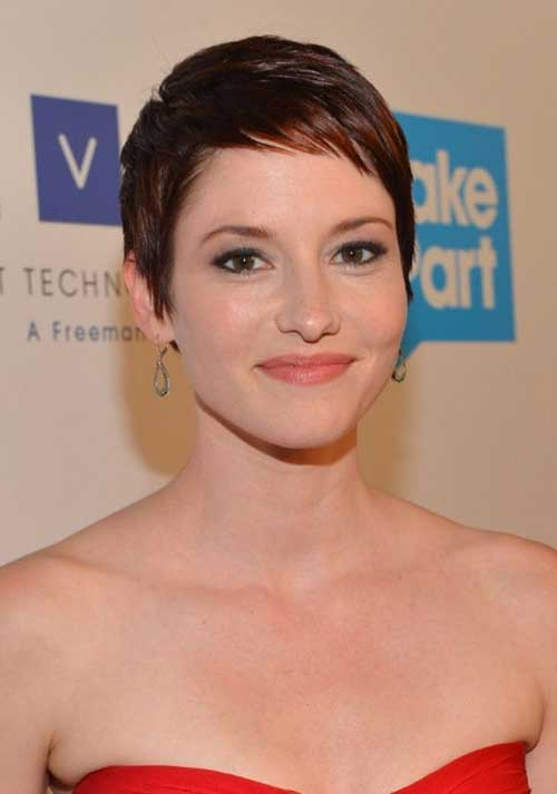 Very Short Pixie Hairstyle for Thin Hair