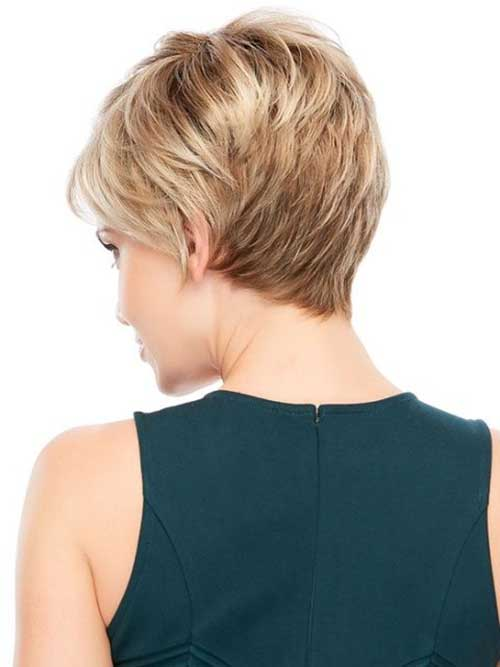 Pixie Layered Haircuts Back View