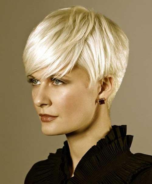 Popular Blonde Pixie Cuts