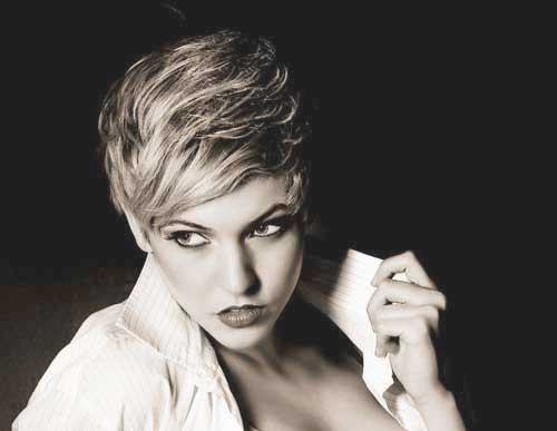 Popular Side Swept Pixie Hair Cuts