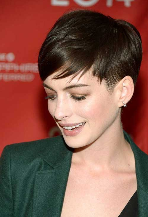 Pretty Short Layered Fine Pixie Cuts