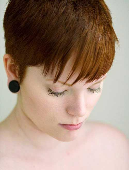 Red Pixie Hair Color Ideas