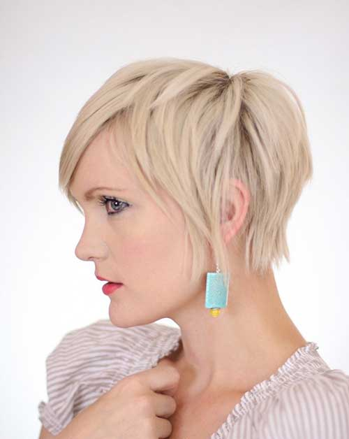 Short Blonde Pixie Haircuts Ideas