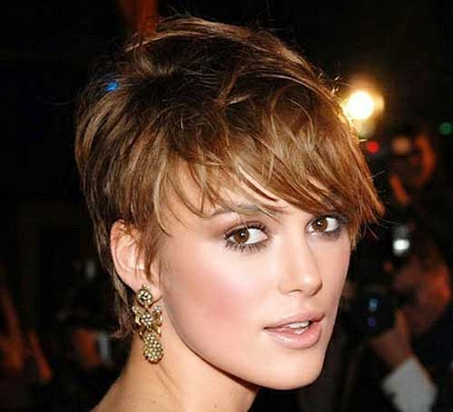 Short Light Brown Pixie Hair Cuts 2015