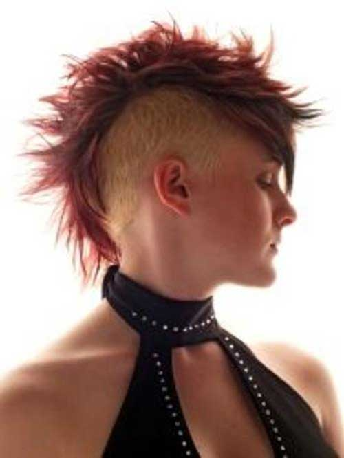 Short Mohawk Pixie Hair Ideas