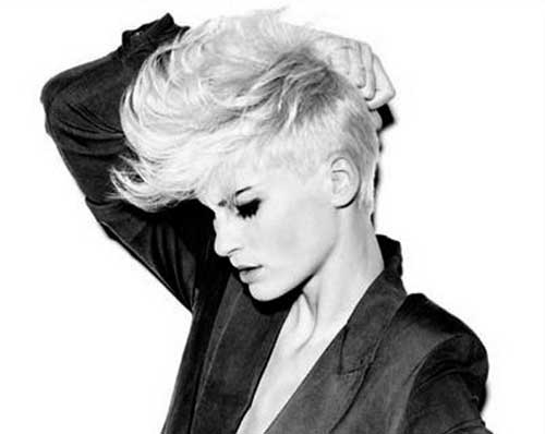 Short Mohawk Pixie Cuts