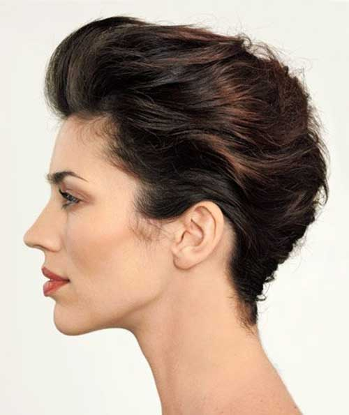 Short Pixie French Twist Styles