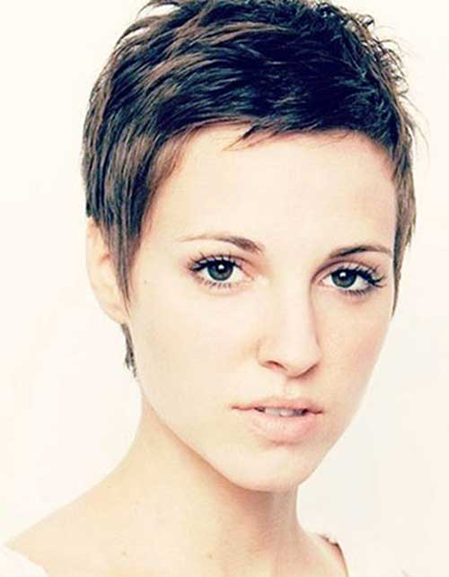 Super Short Pixie for Thick Hair