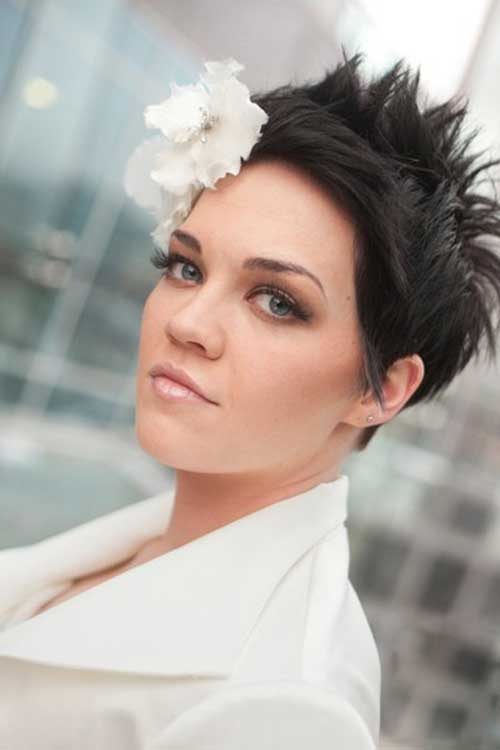 Spiky Pixie for Wedding Hairstyles