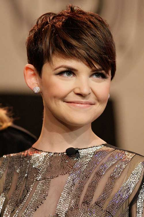 Straight Layered Pixie Hairstyles 2015