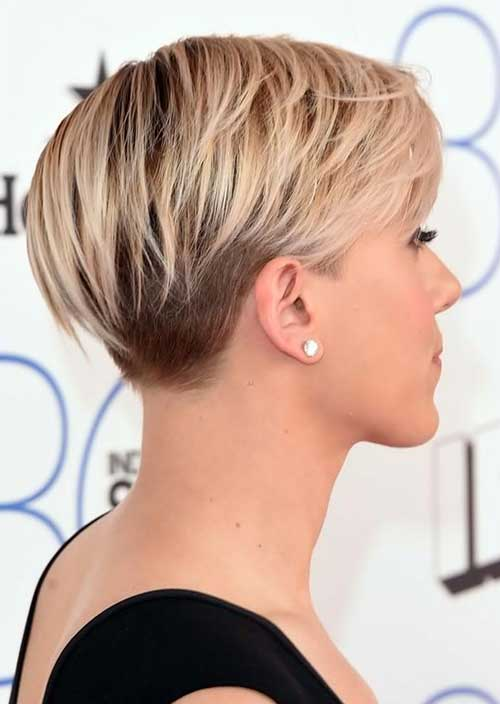 Straight Pixie Hair Cut Side View 2014-2015