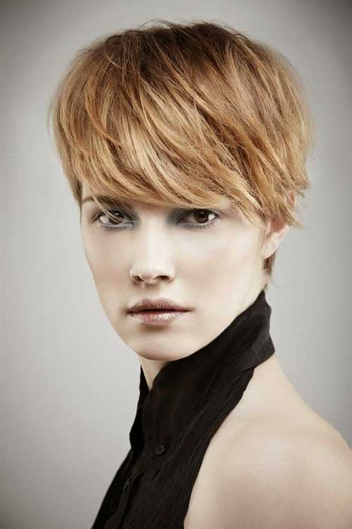 Stylish Pixie Haircuts for Long Faces
