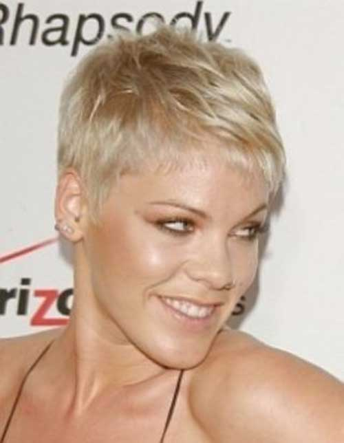 Super Short Layered Pixie Hair Ideas