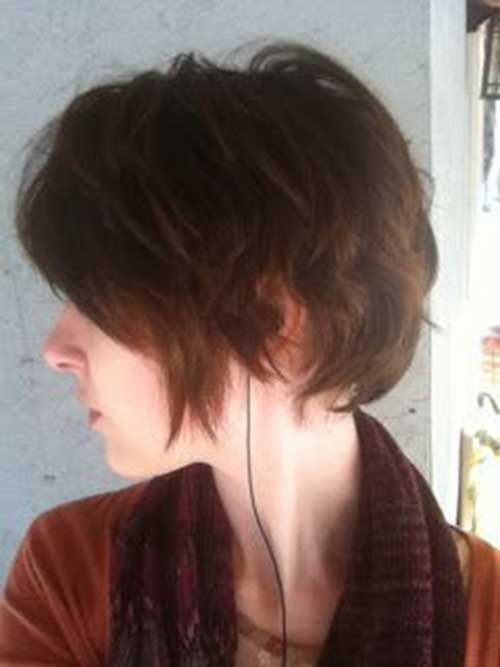Textured Long Pixie Hair Cuts Ideas