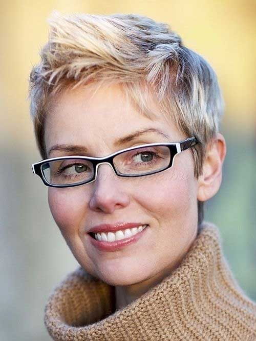 Thin Pixie Blonde Haircuts 2015