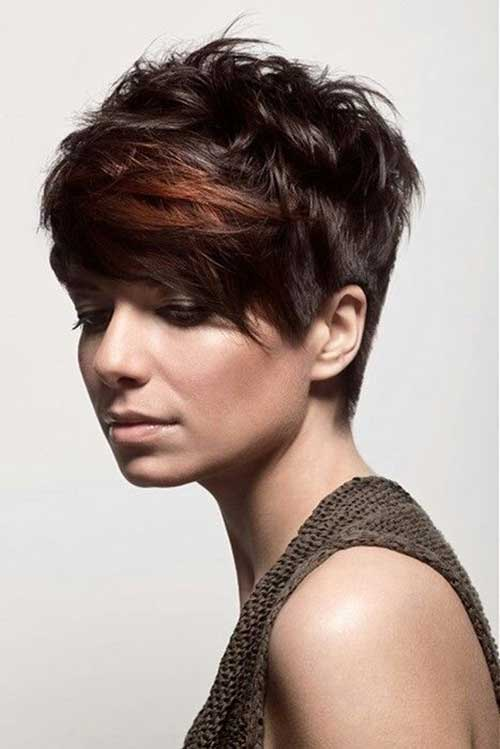 Trendy Longer Messy Pixie Haircuts